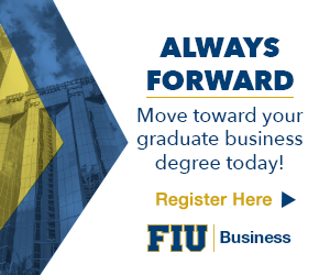 Always Forward: Move toward your graduate business degree today